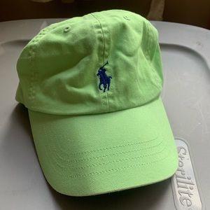 Light Green Ralph Lauren Hat